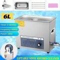 Профессиональный 6L 220V Pro Liftable LP альбом на диске ультразвуковой глубокий очиститель виниловых пластин стиральная машина