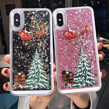 Cartoon Santa Claus Case For iPhone Mobile Phones