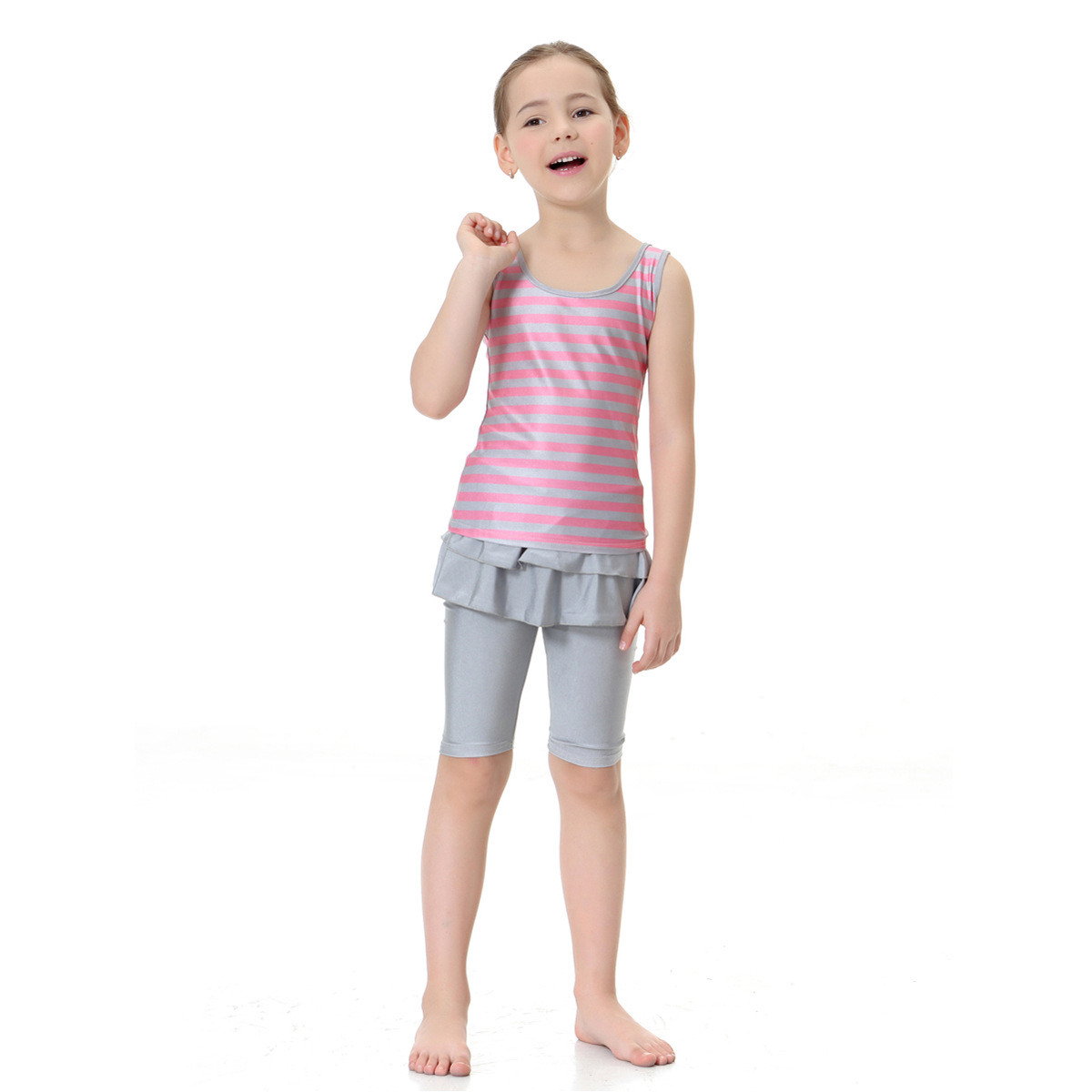 Muslim Hui Nationality GIRL'S Swimsuit Conservative Split Type Swimming Suit, Hw20c, AliExpress EBay Hot Selling