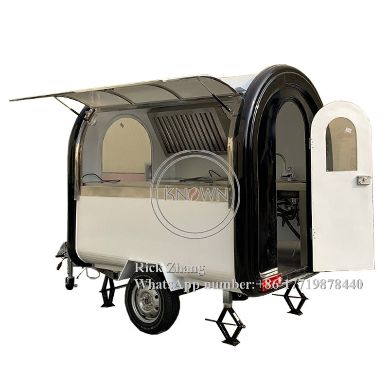 Customized Factory Price Hot Dog Food Carts/trailer/ Ice Cream Truck/mobile Food Carts With Free Shipping By Sea