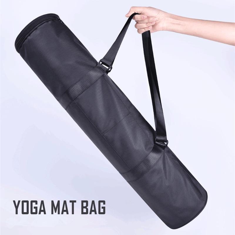 Waterproof Yoga Mat Bag Gym Bag Yoga Backpack Oxford Shoulder Yoga Mat Case Bag For 70*17cm Portable Carry Mat Bag Without Mat