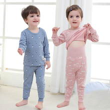 цена на Baby Girls Clothing Pants Set Toddler Baby Boy Outfits For Babies Girl Pajamas Sets Kids Suit Infant Boys Children Clothes Suits