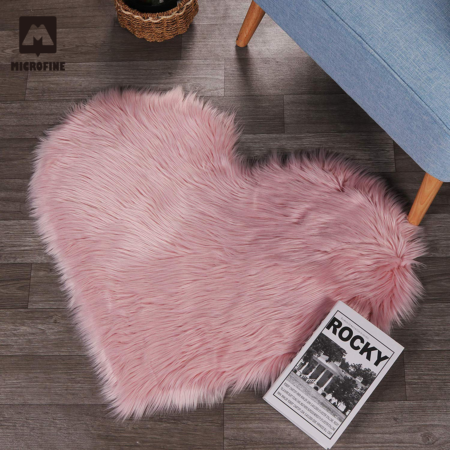 Microfine Furry/Shaggy Carpet Faux Fur Rug For Home Living Room And Mat Children Sheepskin Rugs Area On The Floor Nordic Bedroom