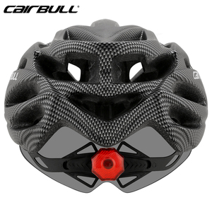 Image 5 - Bicycle with One piece mountain mtb road bike helmet Breathable Bilateral Powermeter Removable riding Casco Ciclismo accessorie
