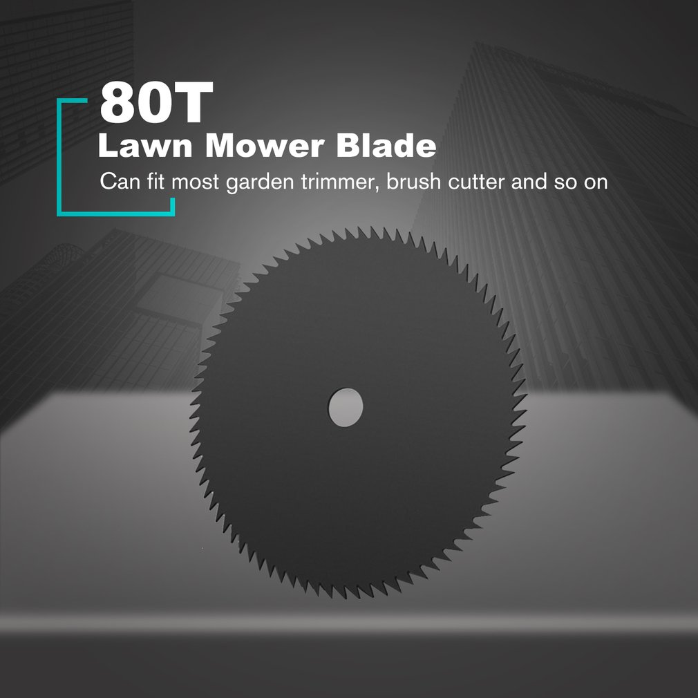 80/60/40/8/4/3T Lawn Mower Blade Circular Grass Cutter Brush Saw Blade Manganese Steel Razor Lawn Machine Accessories Trimmer
