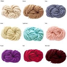 1pc Colorful Hand-Knitted Yarn For Dye Scarf Hand Knitting Soft Milk Cotton Yarn Thick Wool Yarn Giant Wool Blanket#YL5