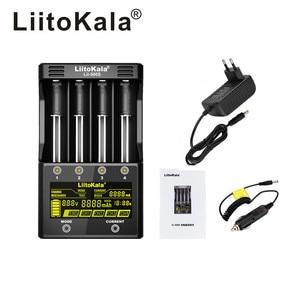 Image 1 - LiitoKala lii 500S lii 500 lii PD4 Lii 202 lii 402 lii S2 lii S4 18650 סוללה מטען עבור 26650 16340 Rechareable סוללה