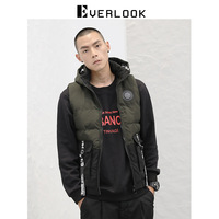 El Men'S Wear 18 New Products Country Popular Brand Mixed Colors Hooded Cotton Vest Warm Webbing Design Cool Casual Sleeveless C