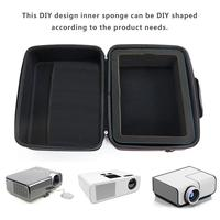 Projector Storage Box Travel Carrying Bag Case For DBPOWER, ViewSonic, Epson, BenQ Projector Drive And Accessories