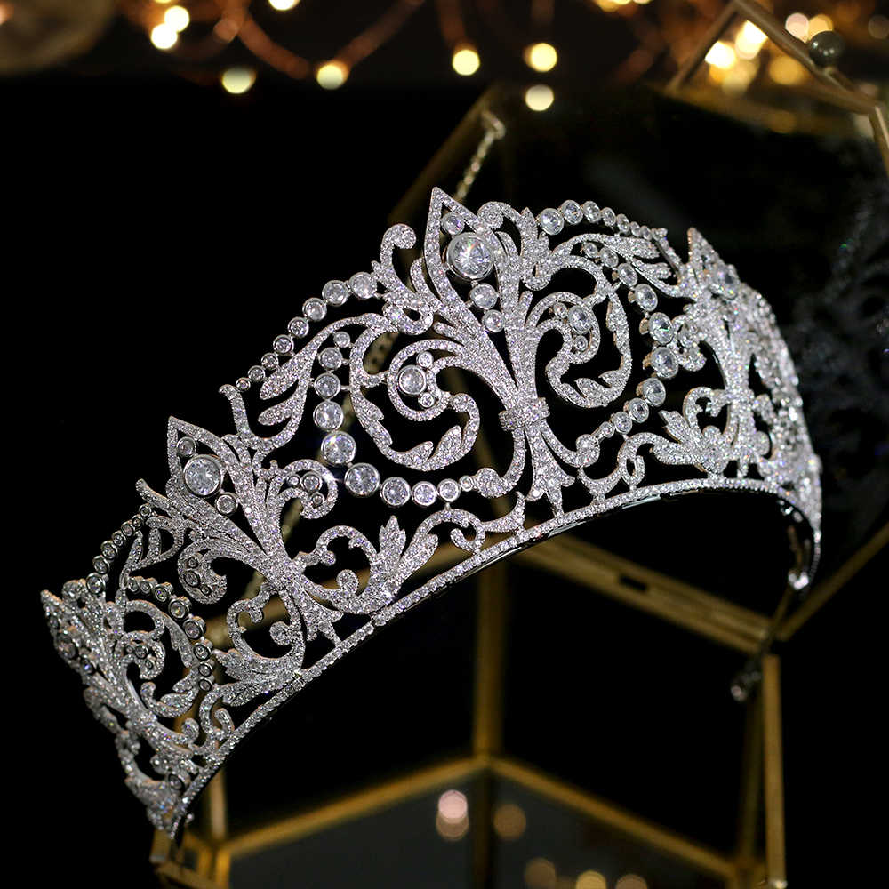 Classico Da Sposa Accessori Per Capelli Da Sposa Della Principessa Di Compleanno Copricapo Corona Della Fascia delle donne Copricapi Accessori корона