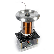 150W DRSSTC Solid-State Tesla Coil Music Physics Toy DIY Arc Generator 220V Lightning Experiment Simulator Science Toy Gift 500w high power tesla arc generator ac 220 v music plasma speaker electronic component speaker diy mini tesla personalized gift
