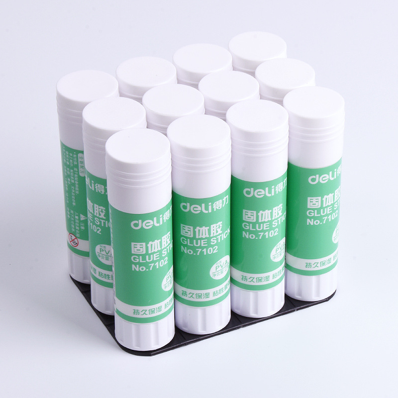 Wholesale Deli 7102 Solid Glue 21G Handmade Glue Solid Glue Stick Medium