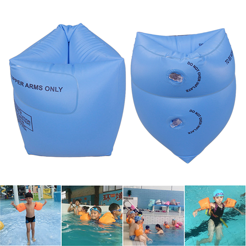 1 Pair Adult Arm Floating Sleeves Circle Children Inflatable Swiming Ring For Swimming Safety Training Inflatable Swimming Ring