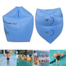 1 para ramię dorosły pływające rękawy koło dzieci nadmuchiwany pierścień pływacki dla bezpieczeństwo pływania szkolenia dmuchane koło do pływania tanie tanio Dziecko Arm swimming Ring Adult Children Blue Pink