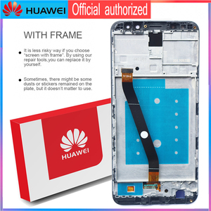 Image 3 - Original 5.9 จอแสดงผลกรอบสำหรับHuawei Mate 10 Lite LCD Touch Screen Digitizer Assembly Nova 2i RNE L21