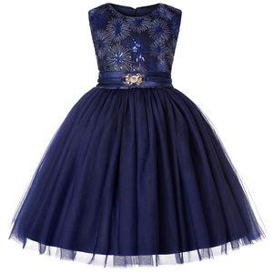 2020 летнее платье для девочек, новое газовое платье принцессы с блестками на талии, детское платье для дня рождения, сарафан, детская одежда