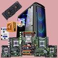 DIY Discount computer hardware HUANANZHI X79 motherboards bundle CPU 2680V2/2690V2 64G RAM 500G SSD 2TB HDD 500W PSU GTX1660TI