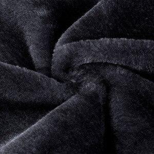Image 5 - 冬パーカー男性プラスベルベット暖かい防風コートメンズミリタリーフード付きジャケットcasaco masculino casacos男性の生き抜くオーバー