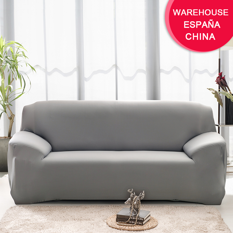 Elastic Plain Solid Coolazy Sofa Cover 7 Chair And Sofa Covers