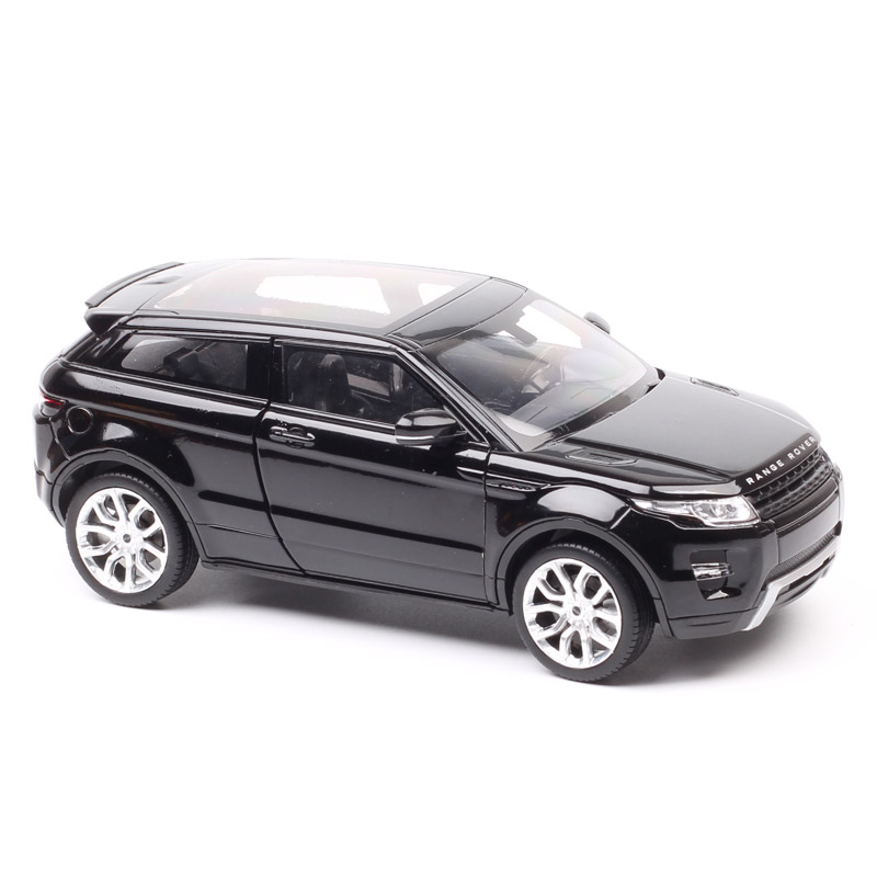 1/24 Scales Welly Large Luxury Range Rover Evoque Diecasts & Toy Vehicles Crossover SUV Metal Car Toy Models Thumbnails Gift Boy