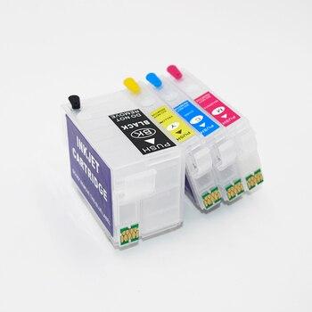 252Xl 27xl Refillable Ink Cartridge For Epson WF-7710 wf-7210 WF-7610 wf-7620 WF-7110 WF-7720 Wf-3620 WF-3640 WF-7715 Printers - discount item  5% OFF Office Electronics