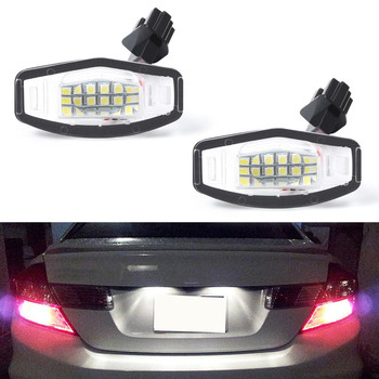 Full LED License Plate Light Lamp Replacement For Honda Accord Sedan Odyssey Pilot Civic City Mk4 Acura MDX TSX TL ILX RDX RL image