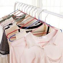 T 1001 противоскользящая вешалка для одежды Влажная и сухая одежда двойного назначения вешалка для одежды стеллаж с паз нанометр вешалка с ПВХ-покрытием