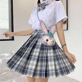Japanese School Uniforms Plaid Skirts Girl\'s Dresses JK Suits Bowknot Shirt Female Sailor Costumes Dress Clothes for Women - DISCOUNT ITEM  30 OFF Novelty & Special Use