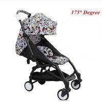yoyo Baby born trolley carrier accessories Car YOYA Travel Folding Poussette stroller bebek arabasi Black China active gear