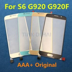 Image 5 - 1 adet ön dış cam Lens ekran Samsung Galaxy S7 G930 G930F S6 G920 G920F dokunmatik ekran paneli değiştirme