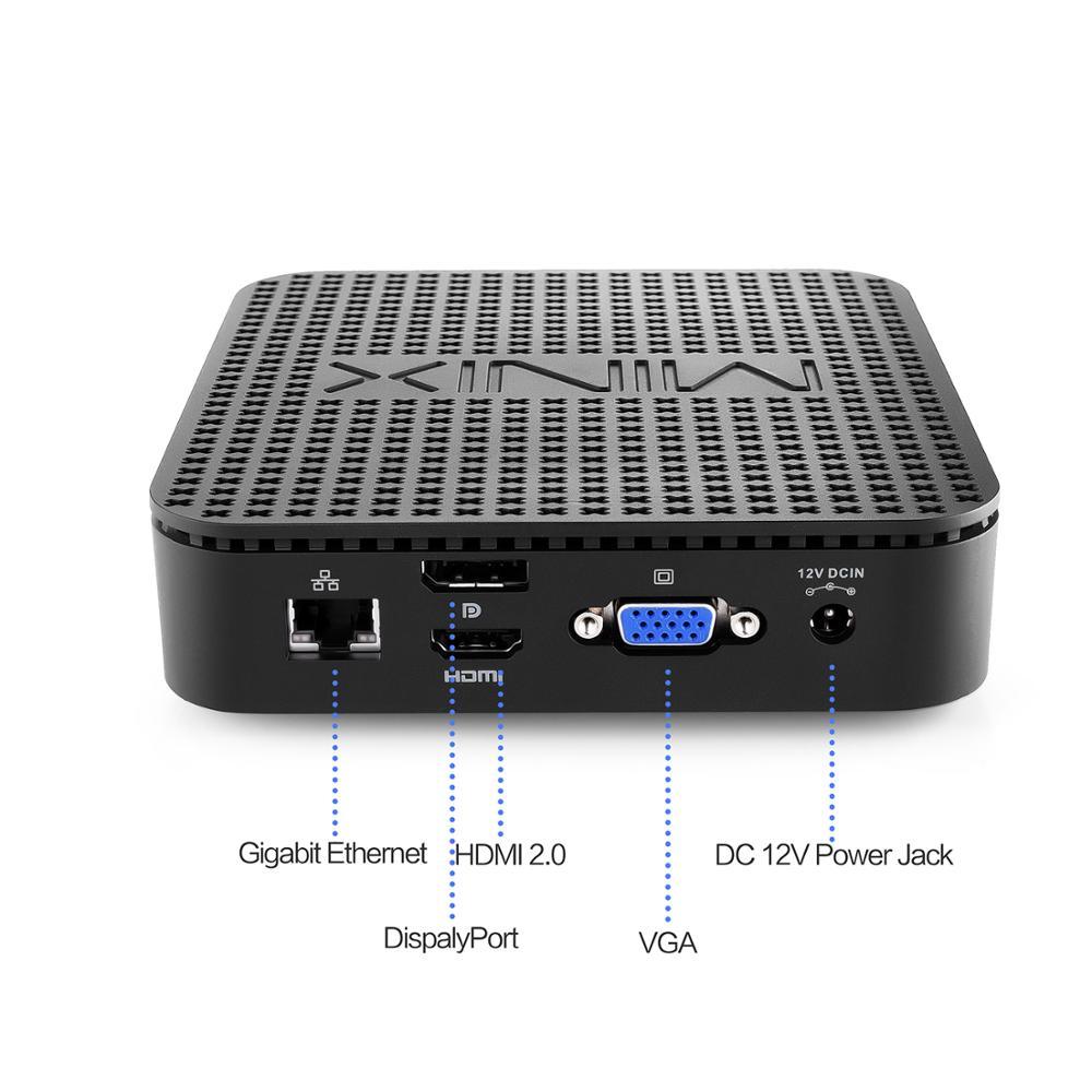 MINIX PC Windows Intel N4100 Fanless NEO New Lake G41V-4 10-Pro Expandable-Storage Ultimate