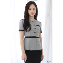 Cosmetologist set stylish temperament high-end professional dress Korean version of the hotel manager front desk uniform