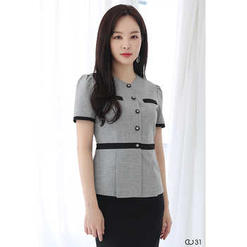 Cosmetologist set stylish temperament high-end professional dress Korean version of the hotel manager front desk uniform - DISCOUNT ITEM  15 OFF All Category