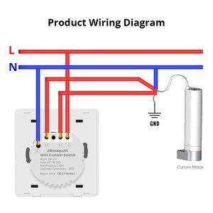 Image 5 - Zemismart WiFi Tuya Curtain Switch Wall Switch Work with Alexa Google Home Smart Life Timer Control