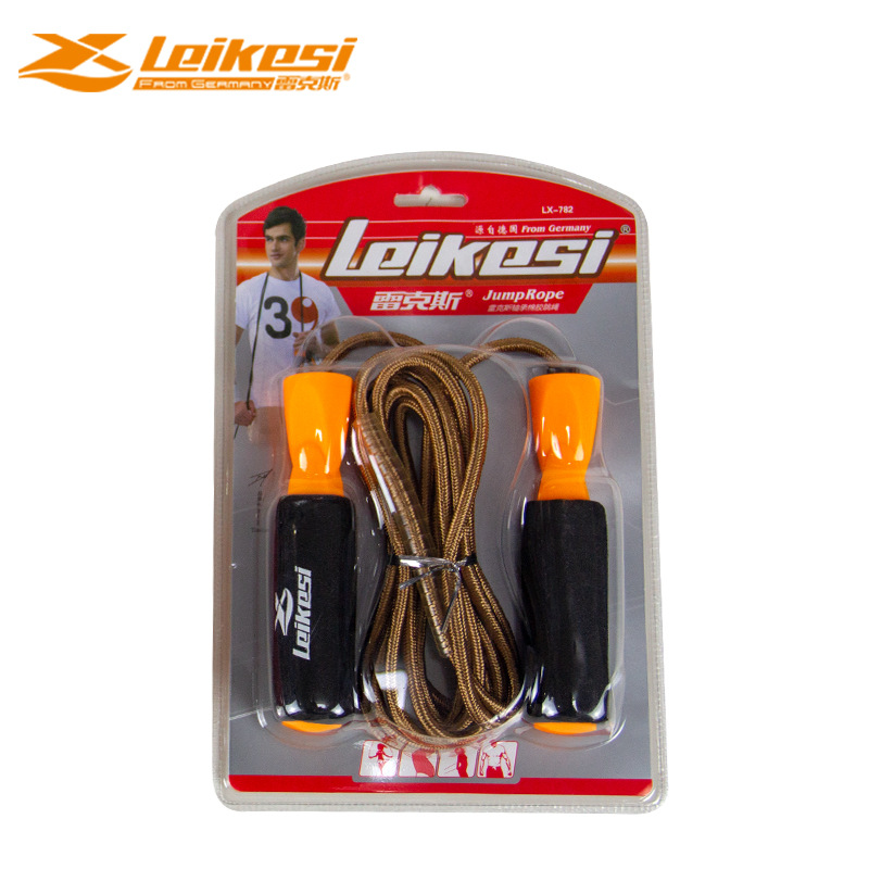 Genuine Product Rex Lks782 Fitness Training Students Adult School Company Cotton Rope Bearing Jump Rope 3 M