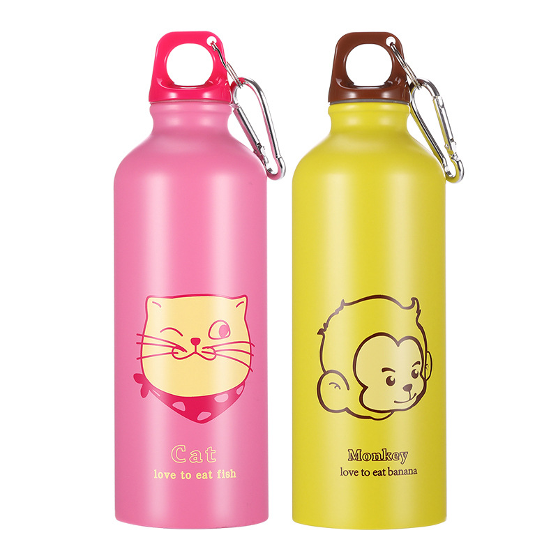 Home K605 Stainless Steel Sports Bottles 500 Ml Outdoor Sports Glass Children Cup Outdoor title=