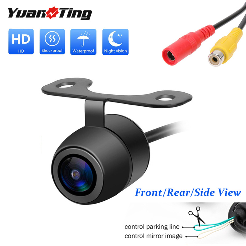 Yuanting Reverse-Camera Rearview-Backup Wide-Angle Night-Vision Universal Car With Waterproof