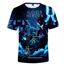 Anime Blood of Zeus 3D Printed T-shirt Spring Summer Fashion Casual Harajuku Style Men/Women All-match T-shirt Retro Tops