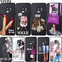 Mode Vogue Bébé Maman Fille Reine Pour Samsung Galaxy A7 2018 A10 A20 A40 A50 A60 A70 A6 A8 A5 A9 Note 8 10 M10 M60 M20 M30 Etui
