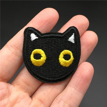 Cute Clothes Embroidery Patch on Clothes Badge Sewing Stickers Applique Decoration Ironing Stripes for Clothing Hippe image
