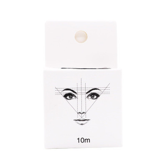 Microblading Supplies Eyebrow Marker thread Tattoo Brows Point 10m Pre Inked Brow Tattoo Pre-Inked Mapping String Eyebrow Thread 3