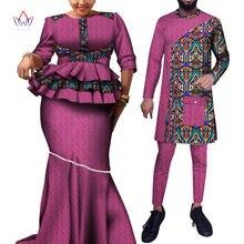 Жаккардовая ткань одежда для пар с принтом Дашики мужской комплект