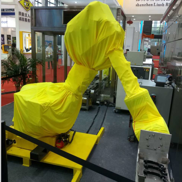 Manufacturers Customizable Industrial Robot Dustproof Anti-static Protective Cover Machine Arm Flame Retardant High-temperature