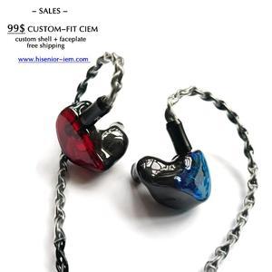 Image 5 - H6 ノイズキャンセルとin 耳イヤホンワイヤー 1.2m mmcx 0.78 ミリメートル 2 ピン着脱式 1DD + 5BAs送料無料