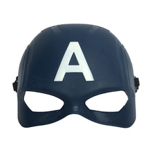 20pcs/lot The Avengers Mask Captain America Steven Halloween PVC Cosplay US Props