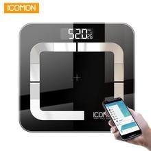 ICOMON i31 Smart Body Weight Scale Digital Bathroom Body Fat Bmi Scale Bluetooth Human Weight bmi Weighing Scales Floor balance
