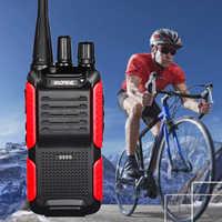Walkie Talkie Baofeng BF-999S Plus 5W 1800mAh UHF BF 999S (2) zwei-weg Radio 10km Tragbare CB Radio FM Transceiver Upgrade BF-888s