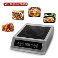 Commercial Induction Cooker 3500w Heat Fast Smokeless Touch Control 220v 240v Safety