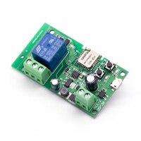 sonoff Smart wifi controle remoto diy módulo universal dc5v 12 v 32 v temporizador de interruptor wi-fi de travamento automático para casa inteligente