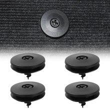 Clips de fixation antidérapants pour tapis de sol, 4 pièces, boucle de fixation pour voiture, tapis antidérapant, fixation fixe